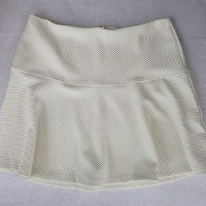 Cream Banana Republic skater skirt 30/10